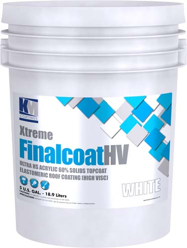 Xtreme Finalcoat HV | KM Coatings | Liquid-Applied Roof Systems
