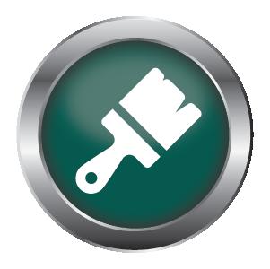 Application method - Green Brush